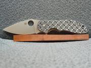Spyderco Domino flipper