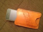 ramos custom leather iphone pouch 2