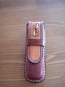 Trapper knife sheath
