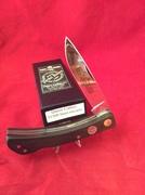 Queen Cutlery 1500 Med lockback Linen Micarta
