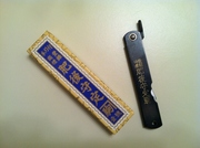 Japanese HIGO Higonokami Craft Folding Satin Black Steel Pocket Knife
