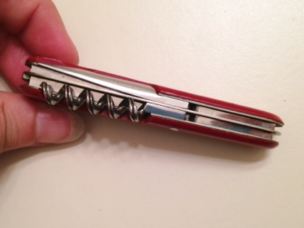 Late 1940's Victorinox Swiss Army Officer Knife  .....ALMOST perfect condition