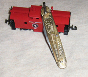 Imperial Fob Knife - 4-4-0 Steam Locomotive