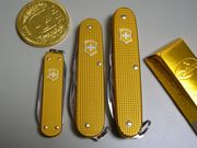Victorinox Alox gold