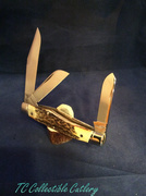 Schatt & Morgan Reverse Gunstock 2nd Qtr Release Genuine Torched Stag 1/400