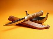my knives as pin-ups (mini museum)