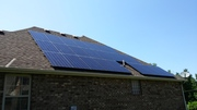 East facing solar array