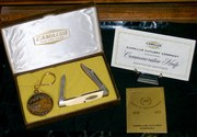 Camillus 100th Anniversary 100 Knife & Coin Packaging, papers 004
