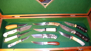 Hand made fixed blades