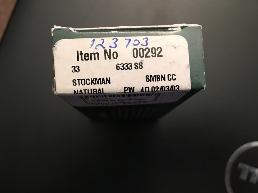 2002 Case Small Natural Stockman Pocket Knife