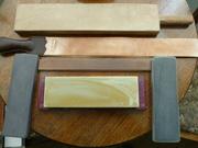 Some straight razor sharpening equipment