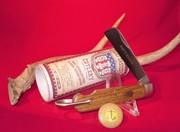 2016 GEC Old Barn Chestnut  Stainless Navy Knife