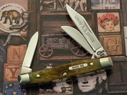 Case 33 Small Stockman  XX Limited Edition Series II Olive Green 1996