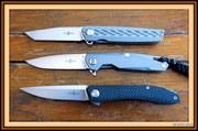 Two Sun Titanium Knives