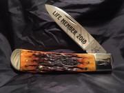 Case Tribal Lock: Autumn Bone