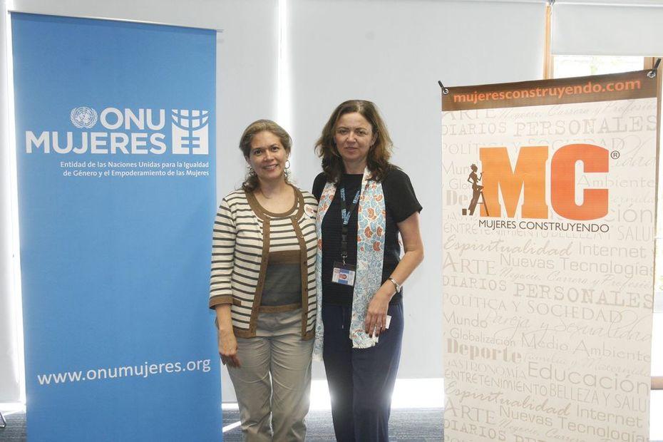 Claudia Calvin y Ana Güezmez