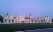 palacio y luna