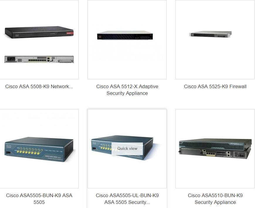 Cisco Firewalls & Security