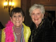 Rosa DeLauro and Pat Widlitz