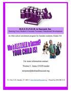 Destined to Succeed: Program for Hamden children in grades 5-8