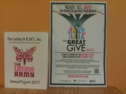 Latina Army - Accomplished Role models Motivating Young Latinas supports The Great Give 2012