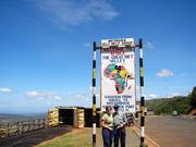 At equator, Kenya