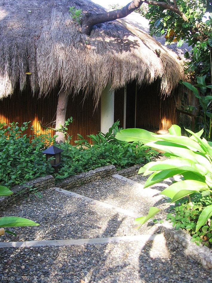 Entrance to Resort Villa, Mandala Spa, Boracay
