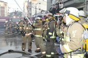 Incendio en el centro de Guayaquil