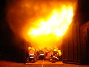 29-05-10 / Escuela de Incendios Estructurales del Cuerpo de Bomberos Voluntarios de Lujan / Buenos Aires en Argentina