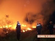 Incendio en El Palmar