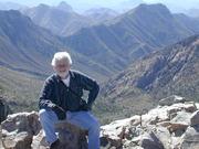 Rob atop Emory Peak - Big Bend