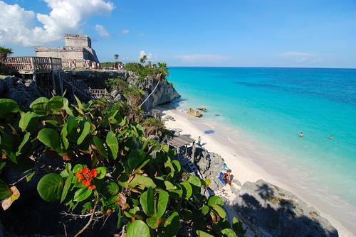 Tulum Mayan architecture
