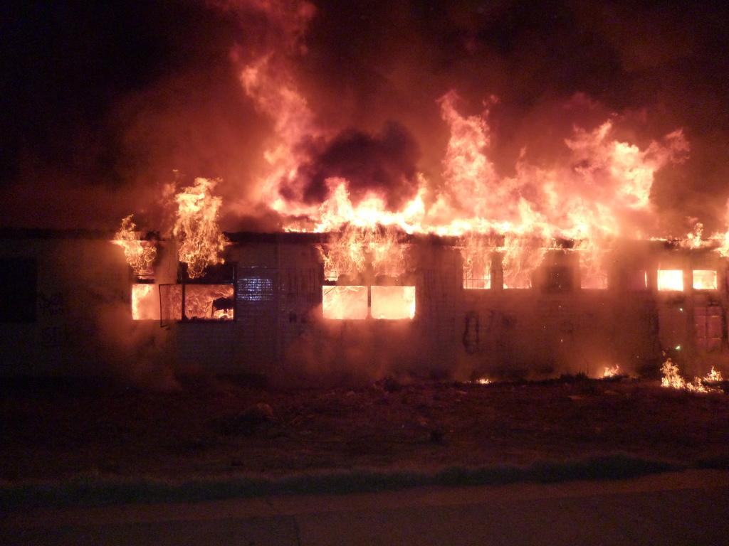 Incendio Centro Recreativo Villa Regina