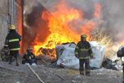 Incendio en General Roca