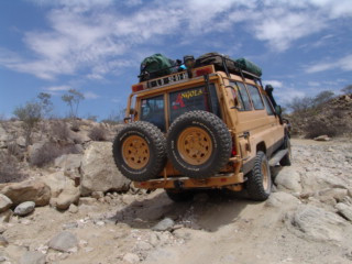 Eco Tur fully equipped off road Land Cruiser