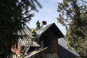 Incendio Villa la Angostura 16/03/12