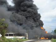incendio de trailer cister