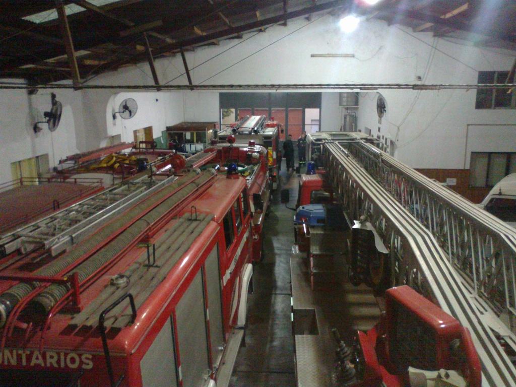 visita al cuartel de Bomberos de Gualeguaychu