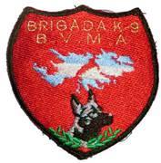 brigada k-9 Malvinas Argentinas