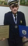 """Comandante Vitalicio del Benemerito Cuerpo de Bomberos de Masaya, Nicaragua """"Dr. Oscar Perez Noguera"""""""