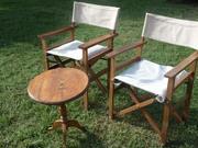 Camping Seats - Karen Blixen Camp