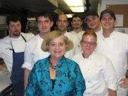 Kitchen of August Restaurant, New Orleans