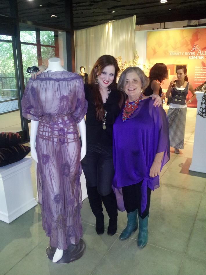 amanda and madelyn at Anayaa fASHionista Fashion Show