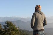 mesmerizing view ... njoyin it while he can ...