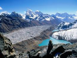 Beautiful view from the Himalayas