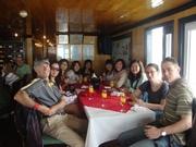 welcome drinks in Alova Cruise restaurant