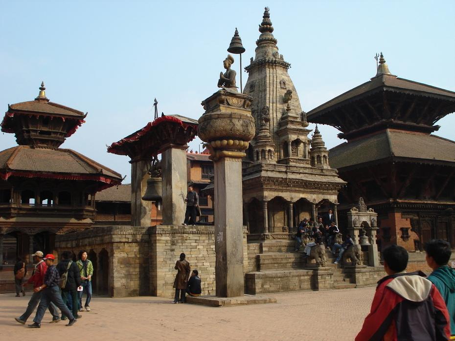 Temples at Bhaktapur Durbar