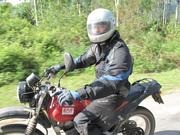 Motorcycling tour