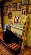 Rug weaver, Istanbul (PIR)