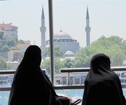 New Mosque from Bosporus, Istanbul (PIR)